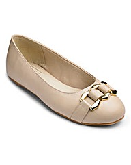 Sole Diva Ballerina Shoes EEE Fit