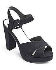 Sole Diva Platform Sandals E Fit