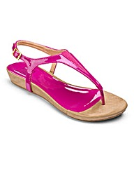 Sole Diva Flexi Sandals EEE Fit