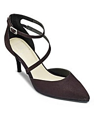 Sole Diva Cross Strap Court EEE Fit