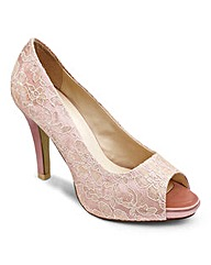 Sole Diva Lace Platform E Fit