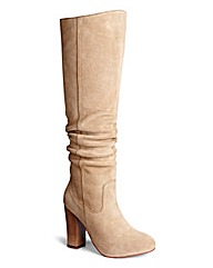 Sole Diva Knee High Slouchy Boots EEE