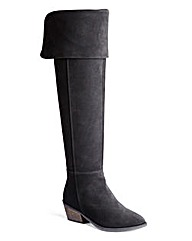 Sole Diva Over The Knee Suede Boots E