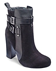 Sole Diva Platform Ankle Boots EEE Fit