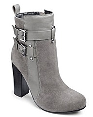 Sole Diva Platform Ankle Boots EEE Fit