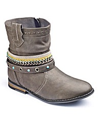 Joe Browns Chain Detail Boot EEE Fit
