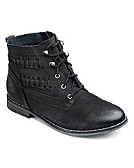 Sole Diva Woven Boot E Fit