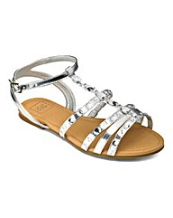 Sole Diva Jewelled Sandal EEE Fit
