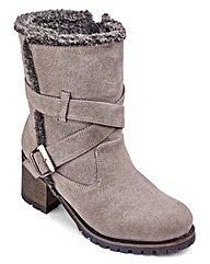 Sole Diva Strappy Boot EEE Fit