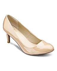 Sole Diva Court Shoe EEE Fit