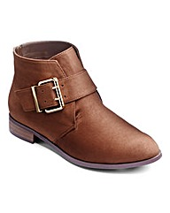 Sole Diva Buckle Boots EEE Fit