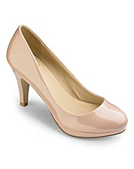 Sole Diva Platform Court Shoes EEE Fit