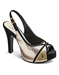 Sole Diva Ankle Strap Platforms E Fit