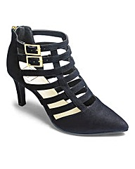 Sole Diva Caged Shoe Wide E Fit