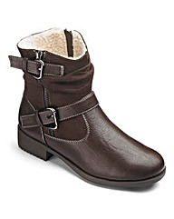 Sole Diva Warm Lined Boots EEE Fit