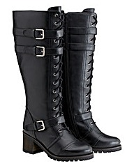 Joe Browns Standard Lace Up Boots E Fit
