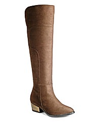Sole Diva Super Curvy Calf Boots EEE Fit