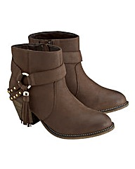 Joe Browns Strap Ankle Boots EEE Fit