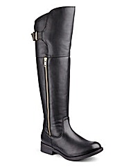 Sole Diva Curvy Calf Boots EEE Fit