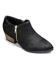 Sole Diva Zip Shoe Boots EEE Fit