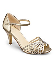 Sole Diva Diamante Sandals E Fit