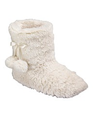 Pretty Secrets Slipper Boots E Fit