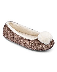 Pretty Secrets Ballerina Slippers