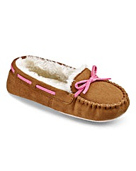 Pretty Secrets Moccasin Slippers E Fit