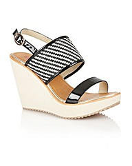 Dolcis Lvov ladies wedge sandals