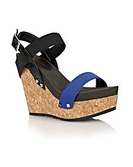 Dolcis Porto ladies wedge sandals
