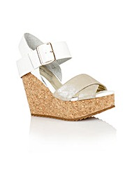 Dolcis Nottingham ladies wedge sandals