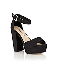 Dolcis Cardiff ladies platform sandals