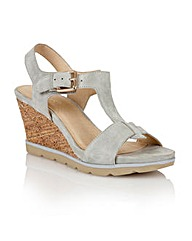 Lotus Mirror Casual Sandals