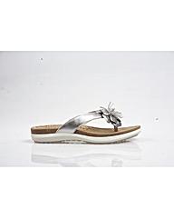 Van Dal East - Silver Sandal