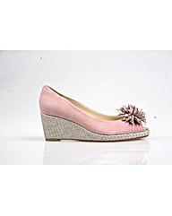 Van Dal Cocoa - Rose Sde/Silver Shoe