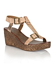 Ravel Hibbing ladies wedge sandals