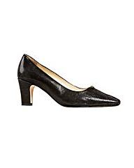 Van Dal Howe - Black Lizard Print Shoe
