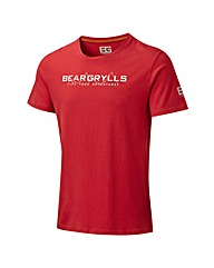 BearGrylls Bear Mountain Range Graphic T
