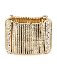 Mood Gold stick stretch bracelet
