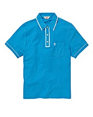 Penguin Earl Blue Polo Shirt Regular