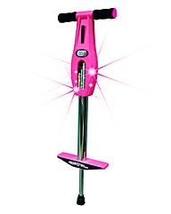 Elektra Light Up Pogo Stick Pink