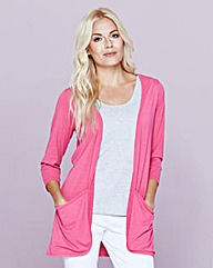 Jersey Edge to Edge Cardigan