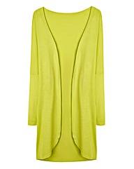 Lime Zest Jersey Viscose Kimono