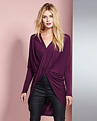 Twist Front Wrap Top