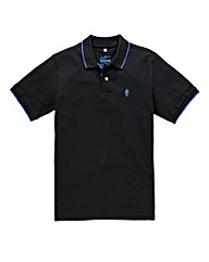 Jacamo Black Tipped Polo Regular