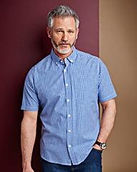 Jacamo Cobalt Archer S/S Check Shirt R