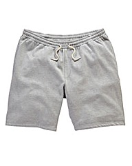 Jacamo Grey Marl Fleece Shorts