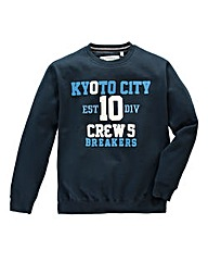 Jacamo Reddick Crew Sweat Long
