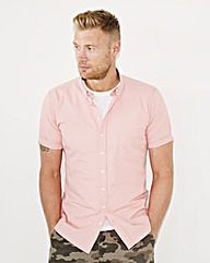 Flintoff by Jacamo S/S Printed Shirt Reg