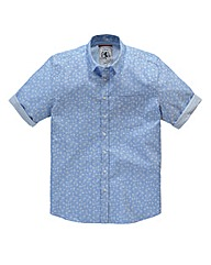 Flintoff by Jacamo Floral Shirt Long